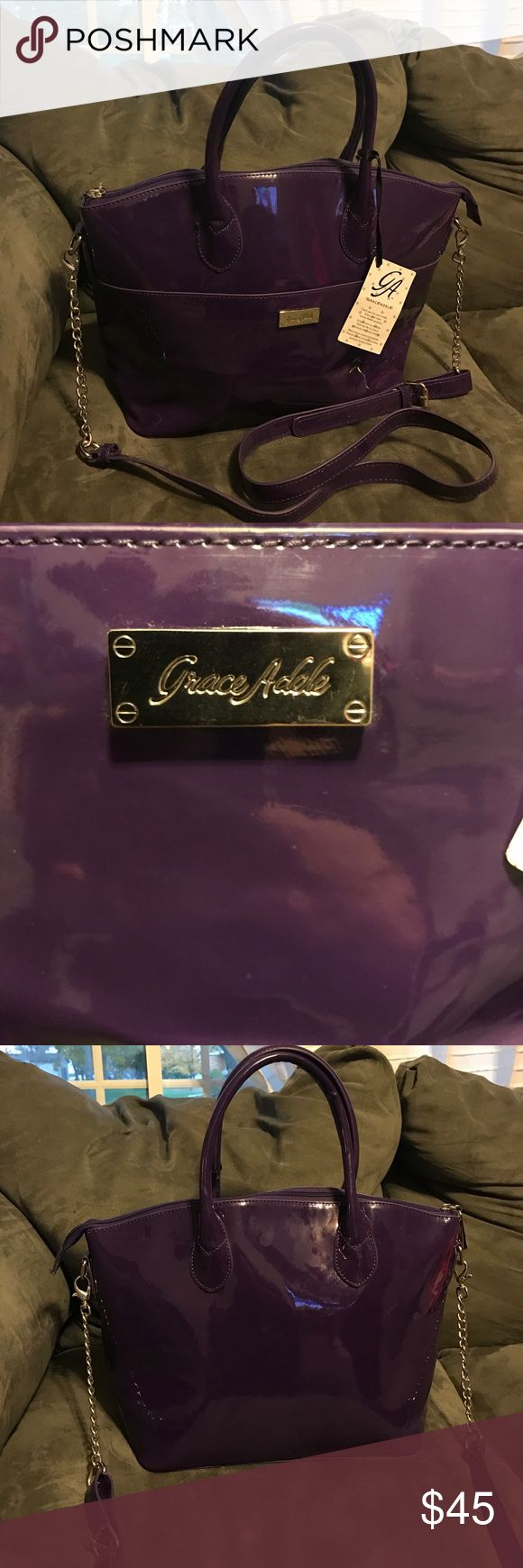 NWT grace Adele bag NWT. Limited edition. Comes with adjustable strap you can take off. Retail price is 180. very adorable Bags