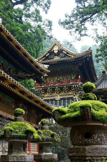visitheworld: Toshogu Shrine in Nikko, Japan (by... - logangaiarpg