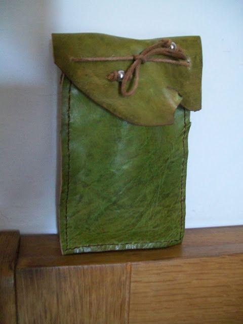 #pencil case #leather