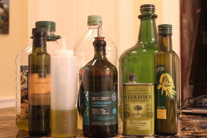Olive Oil, a staple of Italian cooking.