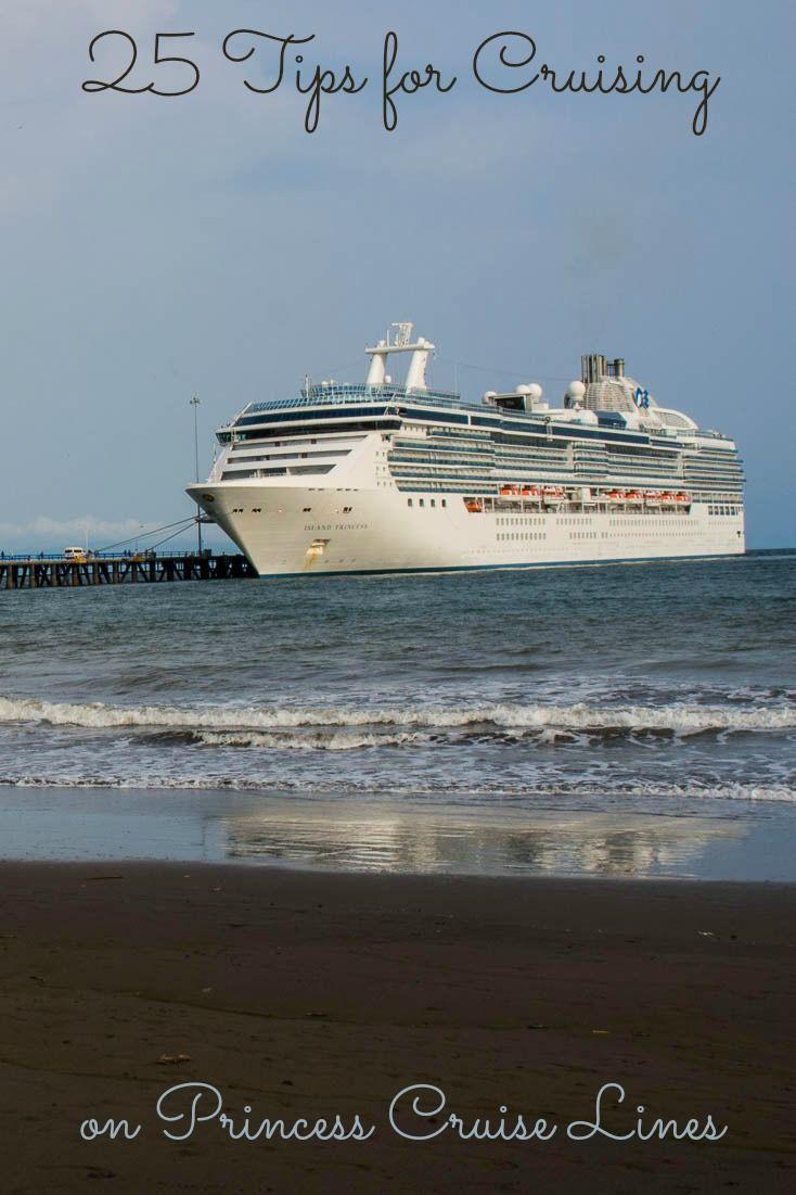 25 tips to make cruising with Princess Cruises more fun.