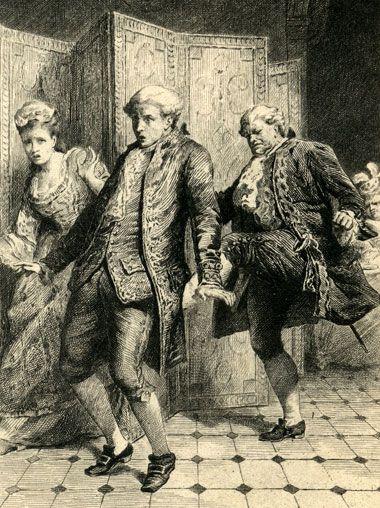 M. le baron de Thunder-ten-tronckh a chassé Candide du château parce qu'il était pauvre et n'avait pas un titre (5)