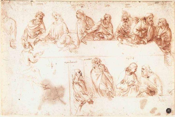 RT @ArtistDaVinci: Study for the Last Supper https://t.co/9pbf5AJ3Z3 #fineart #arthistory https://t.co/tq5CAMevZA
