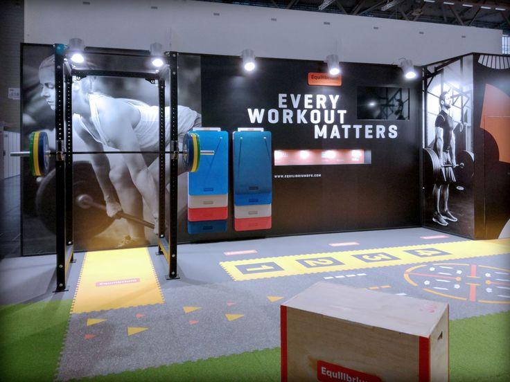 Fotos del stand diseñado y construido para Cauchos Karey para la feria FIBO 2017 de Colonia