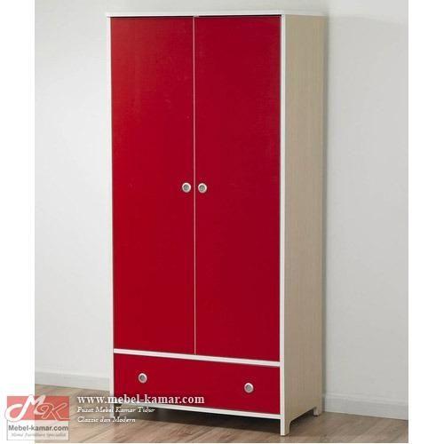 Model lemari pakaian anak minimalis 2 pintu modern, untuk rumah modern , lemari anak harga murah dengan kualitas yang bagus, mebel-kamar.com Pusat Produksi Furniture Kamar Tidur