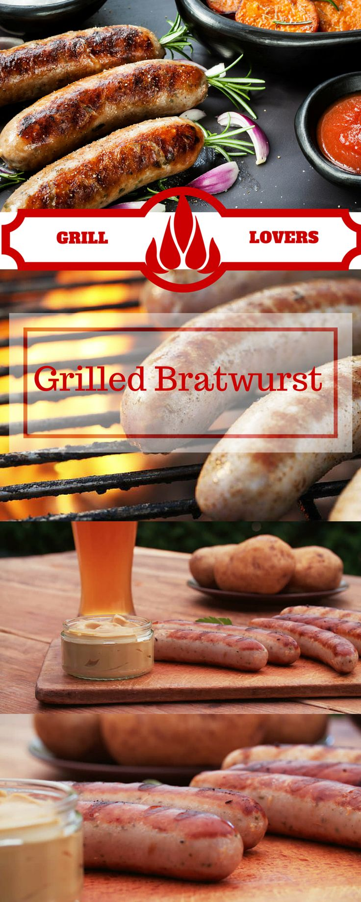Grill Lovers' Amazing Grilled Bratwurst Recipe   #recipes #foodporn #foodie…
