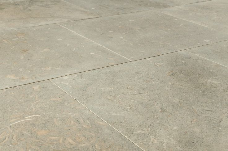 "Limestone Tile - Sea Grass - Honed / 18""x18""x1/2"""