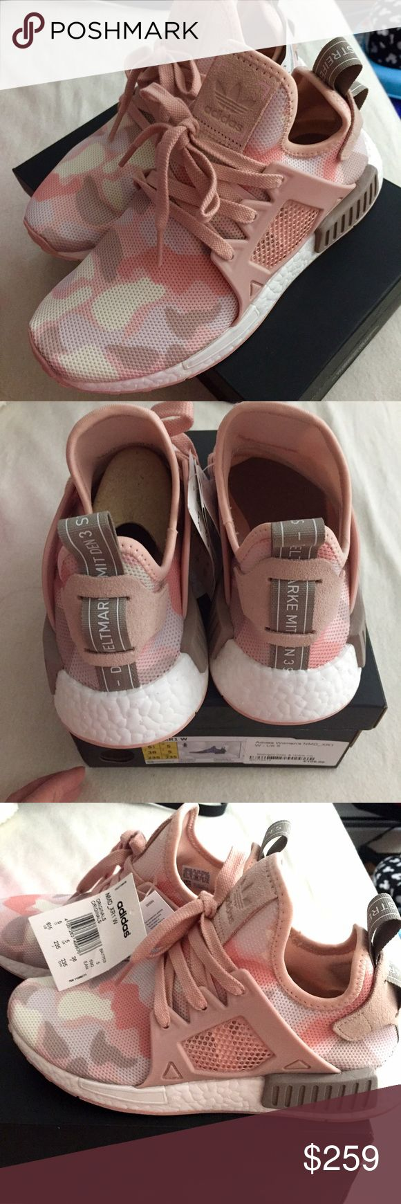 Adidas NMD XR1 camo pink Limited release 100% authentic adidas NMD . Brand new with tag . Never been worn . Sold out everywhere . Adidas Shoes Sneakers