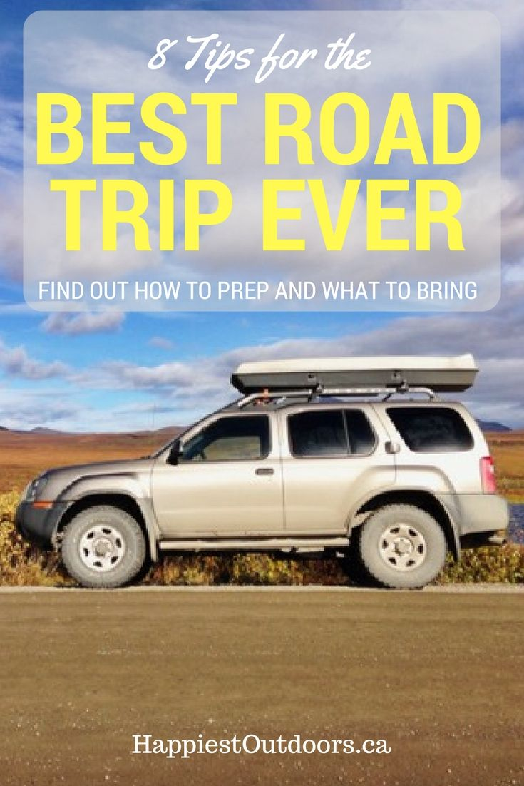 Road Trip Tips. Find out how to prep, what to bring so you can have the best road trip ever.