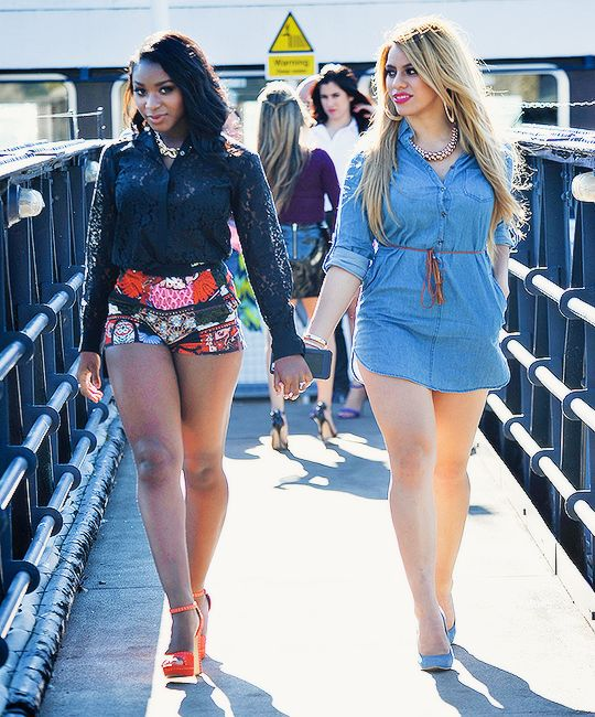 Dinah and Normani ;