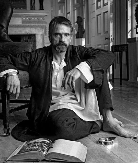 """Jeremy Irons - forever smoking. He came outta the gate like a bat outta hell. Especially loved his work in Cronenberg's """"Dead Ringers,"""" Malle's """"Damage,""""  and Barbet Schroeder's somewhat pedestrian """"Reversal of Fortune."""""""