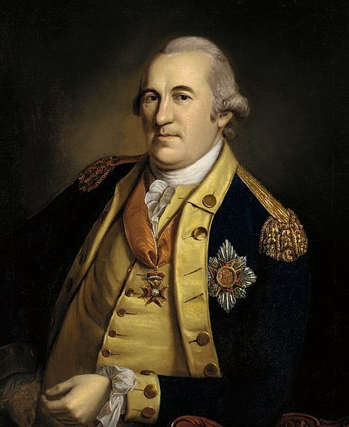 """Baron von Steuben was a German-born officer in the Prussian army who volunteered his services in the Continental army. His """"blue book"""" and training methods revolutionized the American army's methods."""