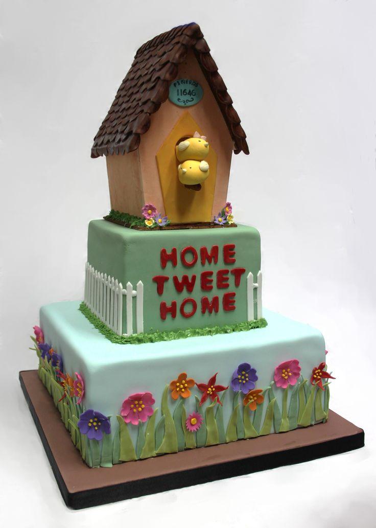 House  Cake | Bird house cake. - Cake Decorating Community - Cakes We Bake