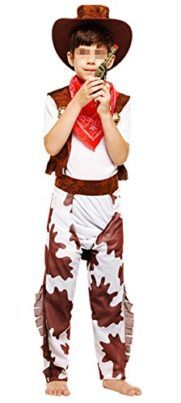 Cowboy Costume Uniform for Boys Girls 110-140cm Tag someone you think would look good in this! #Cowboy #Halloween #Costume