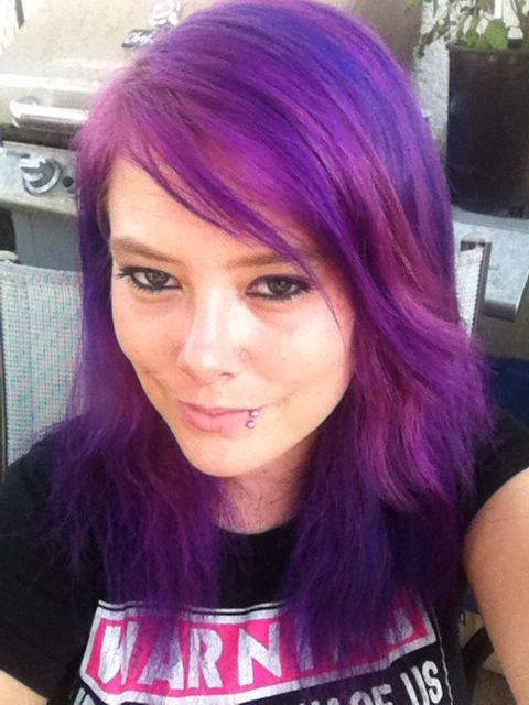My New Colour Ion Colour Radiant Orchid ️it Hair