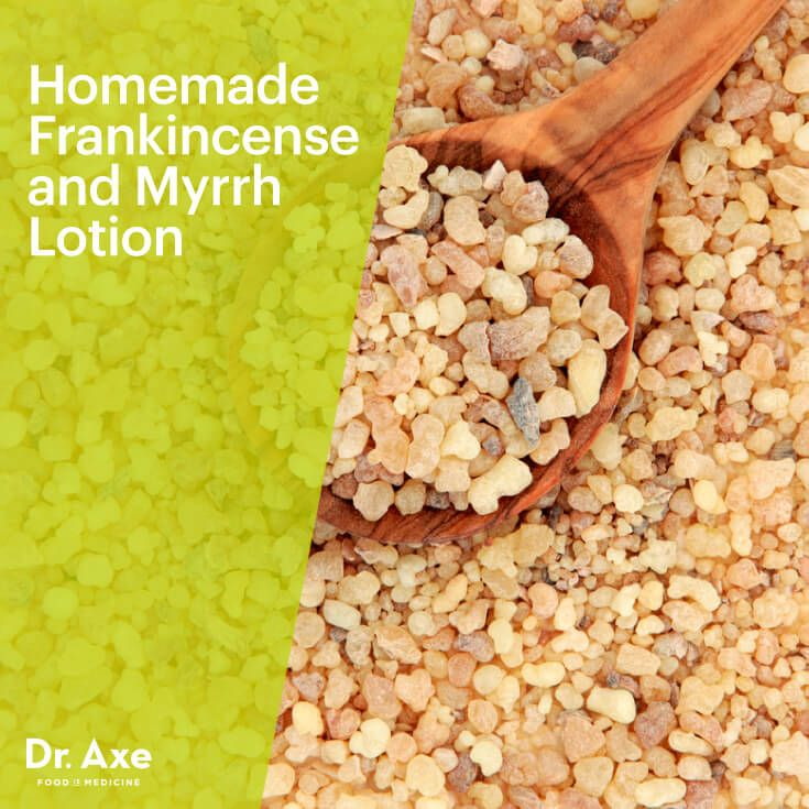 Homemade Frankincense and Myrrh Lotion - Dr.Axe