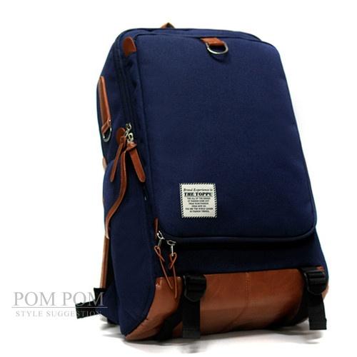 New Navy Laptop Bag School Bag Laptop Backpack Mens Bookbag Briefcase TP149 | eBay