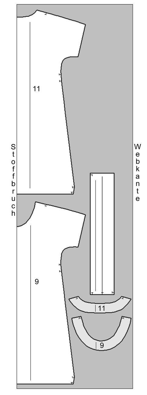 Schnittmuster: Kleid mit Gürtel nähen - eine Anleitung   BRIGITTE.de