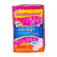 Absorvente Always Pink Proteção Total Dia