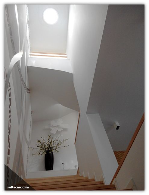 Don't trip going up or down the stairs! It's brighter with Solatube