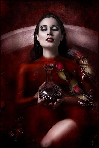 Elizabeth Bathory -born in 1560-1614, Hungarian of noble blood. The Blood Countess, is one of the most famous of all historical vampires. She is renowned as a torturer, an eater of flesh and a bather in blood. Reputed (admittedly with only anecdotal evidence) to have not only drunk but bathed in the blood of young virgin girls.