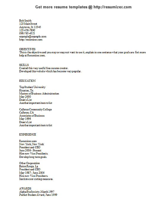 1000  ideas about resume form on pinterest