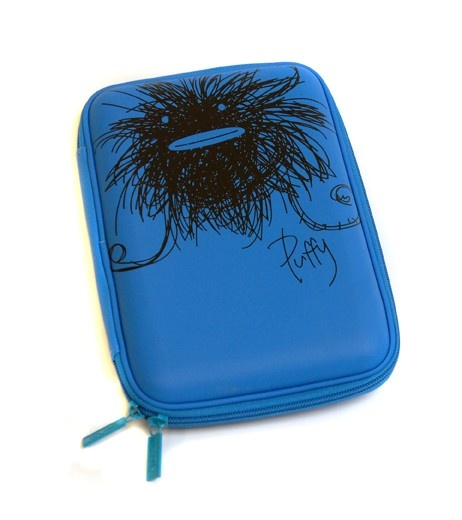 Scruffs Hardhead Pencil Case - Puffy