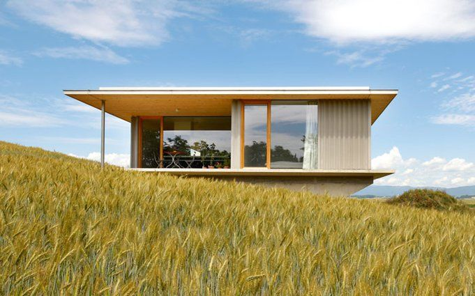 Bungalow als bauernhaus geile h tte pinterest haus und bungalows - Bungalow moderne architektur ...