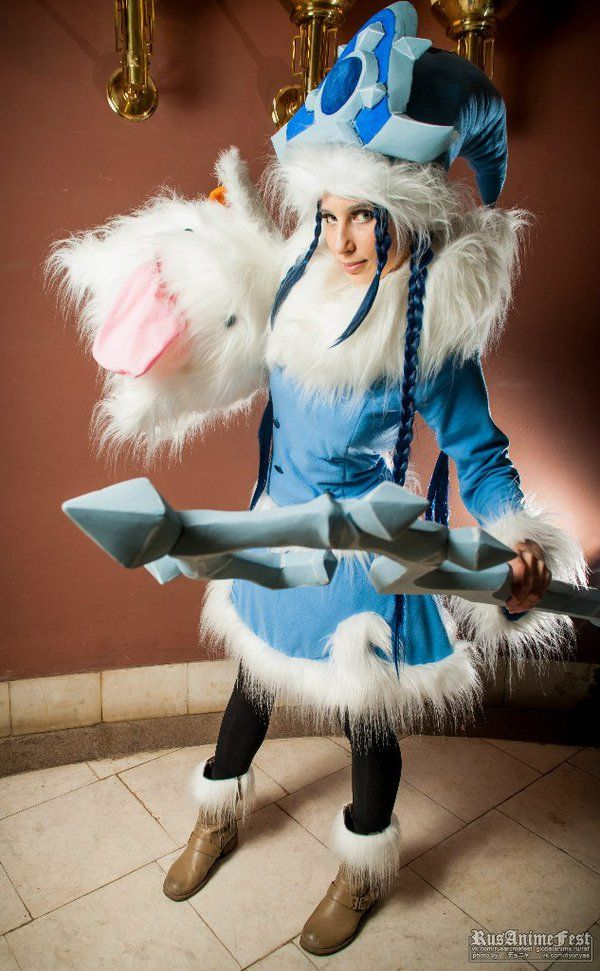 Winter Wonderland Lulu League of Legends Cosplay | Geeky ...