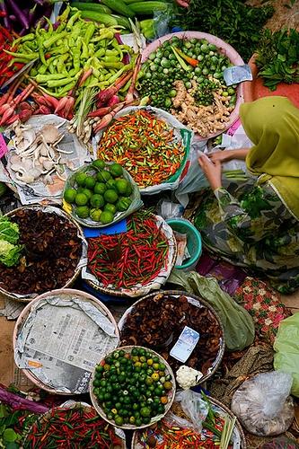 Pasar Besar Siti Khadijah, Malaysia by RealThai, via Flickr
