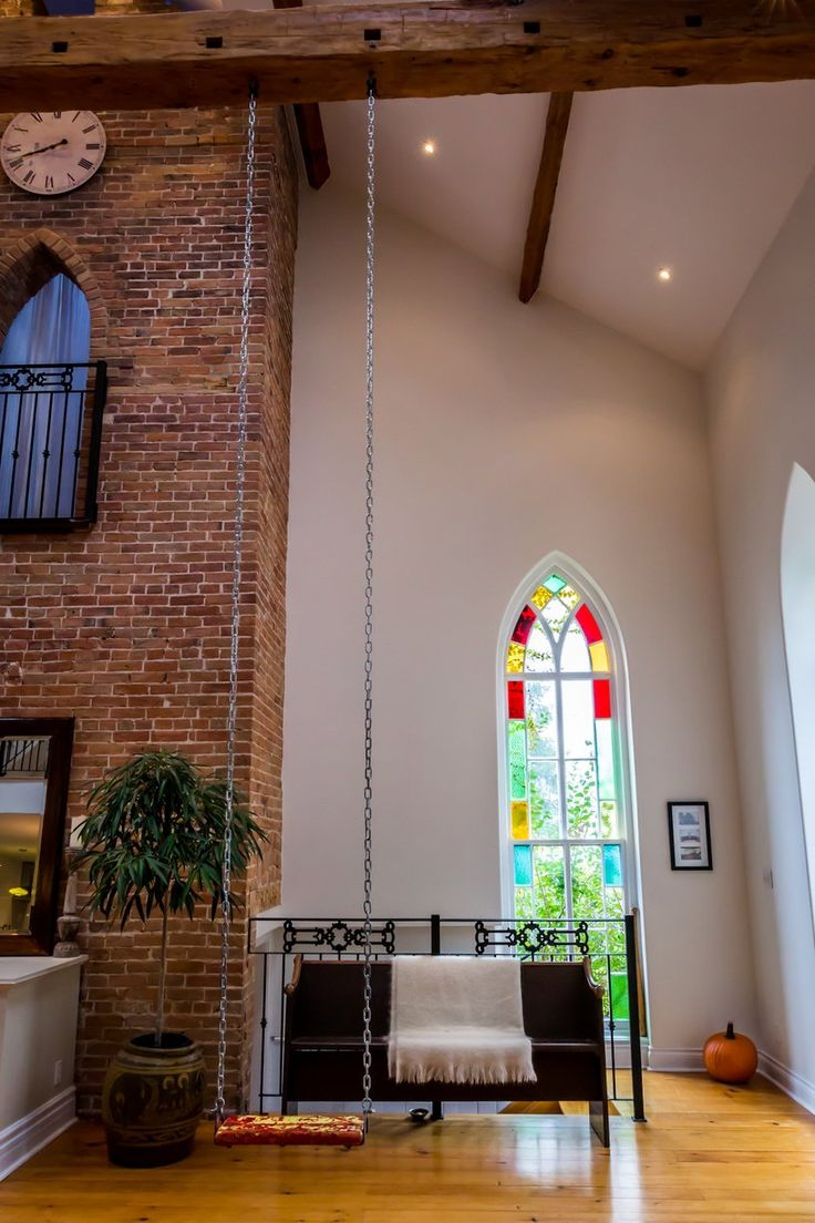 286 best home interiors images on pinterest apartment therapy dan sarah s songbird church house house tour