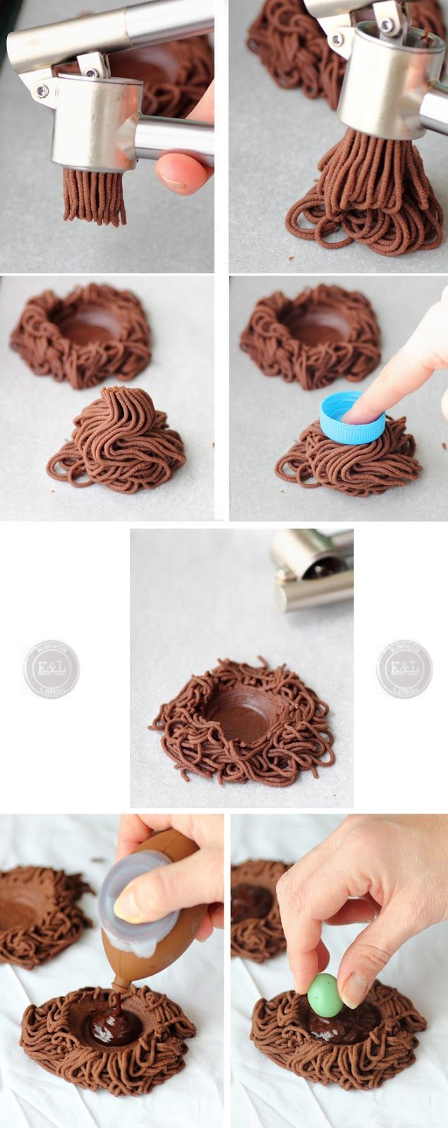 Easy Easter Nest Cookie