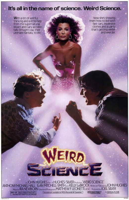 Weird Science (1985) Teen life is full of mysteries, but nothing is more hilarious or more fun than Weird Science, the out-of-this world comedy that helped define a generation! Join two socially chall