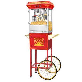 Great Northern Popcorn's Good Time 8-oz Popcorn Machine with Cart