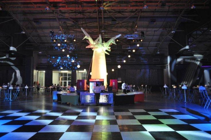 A 6m tall Baobab weighing just 4 kg and with internal LED lighting, DMX programmable to music or other colour-shift scenario!