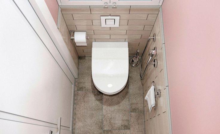 Туалет в хрущевке : фото, идеи дизайна, примеры ремонта ...