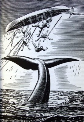 410 best moby dick art images on pinterest rockwell kent collar one of rockwell kents prints for a 1920s edition fandeluxe Choice Image
