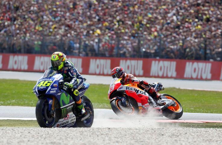 MotoGP Assen: Rossi, Marquez: We'll still be friends. #MotoGP #Rossi #Marquez