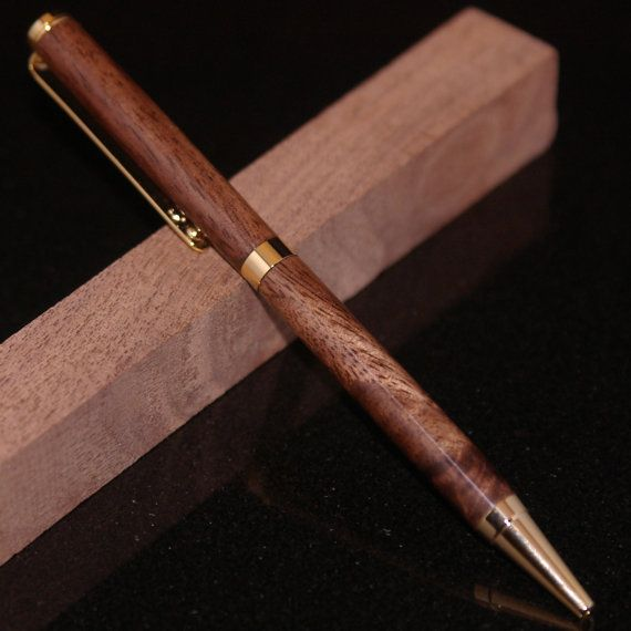 Custom Made Touch Stylus Pen, Exotic Wood Body