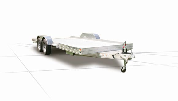 Featherlite Bumper Pull Aluminum Car Trailers - 3110 Car Trailer up to 24ft length and 8.5 wide