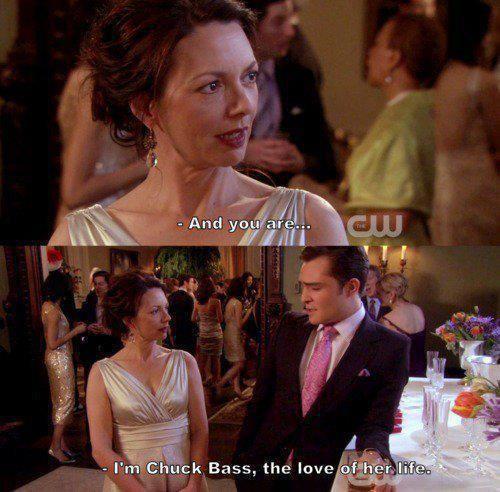 Chuck and Blair. Blair and Chuck. ↠{abbeygoldfinch}↞