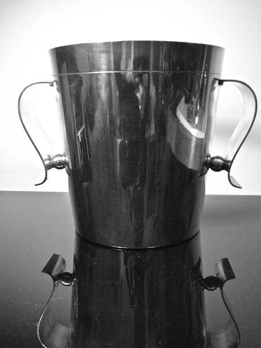 Art Deco Christofle silver plated champagne bucket 1920´s