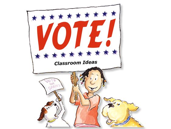 FREE Teaching Ideas to go along with Vote - picture book about Teaching Government & Elections {Weekend Links} from HowToHomeschoolMyChild.com