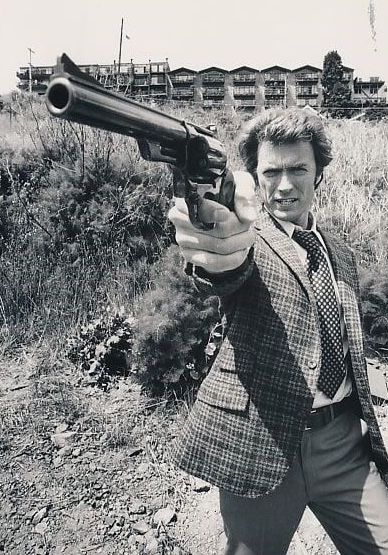 Clint Eastwood, Dirty Harry.