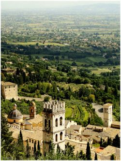 Assisi (Umbria region of Italy)by Margarettize ~ hill town and birthplace of St. Francis of Assisi, one of Italy's patron saints.