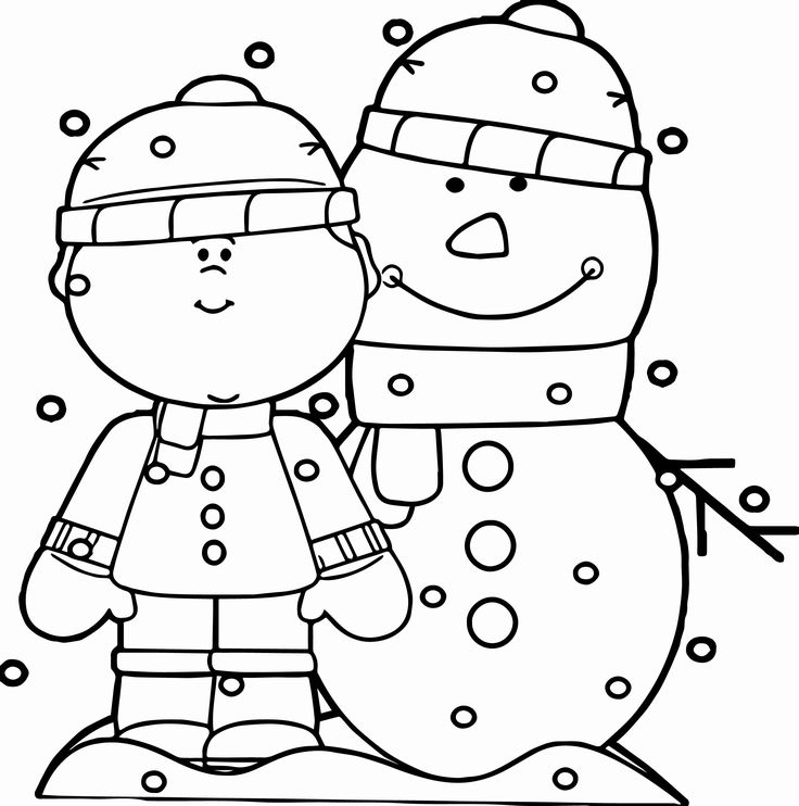 Snowman coloring pages for all the kids who love winter