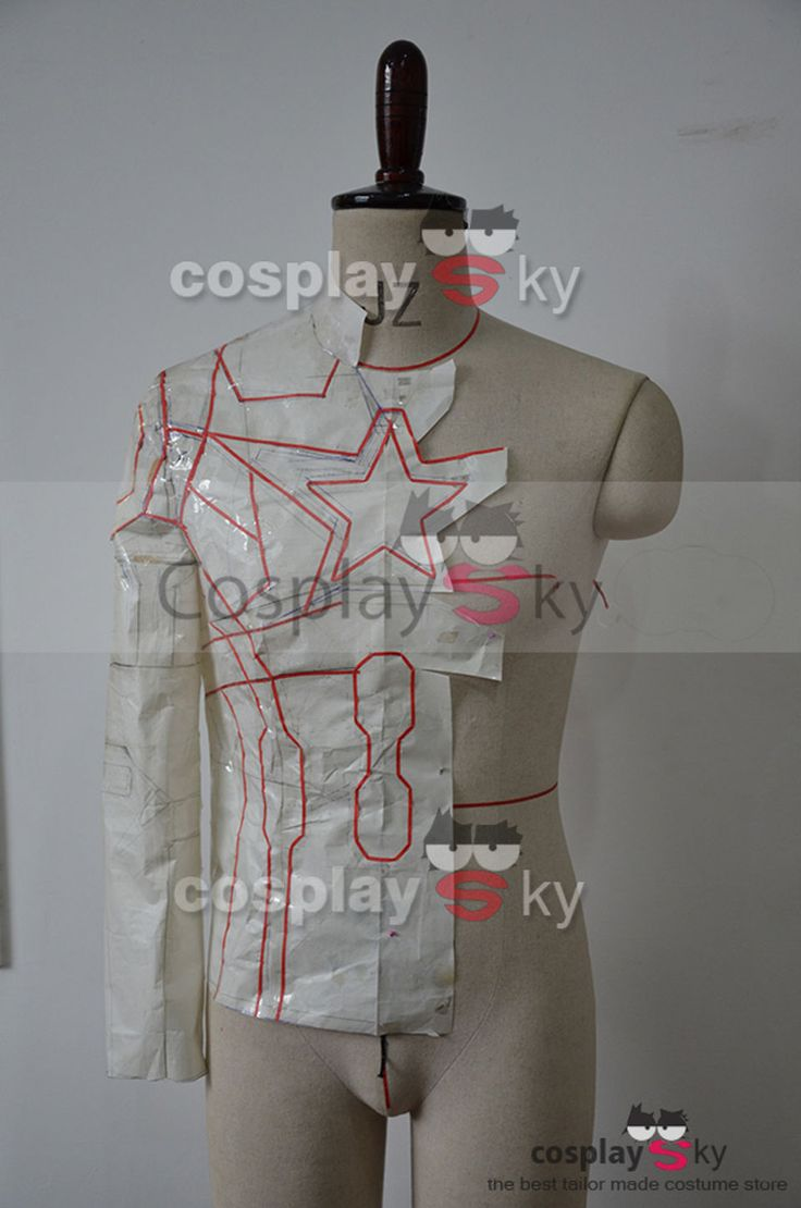 Cosplay Tutorial: Make Your Own Captain America Costume by Learning from the Best Tailors from Cosplaysky Part 1   moviepilot.com