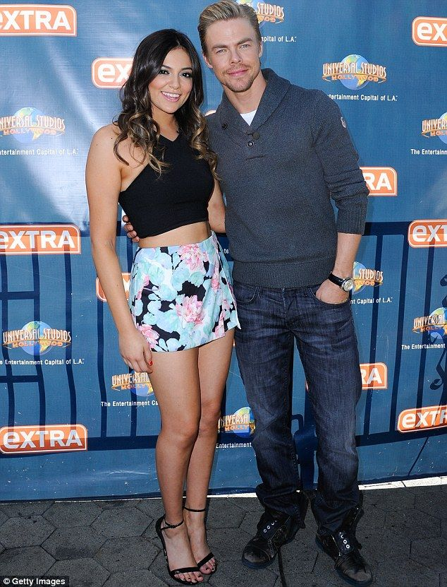 bethany mota and derek hough dating Flower power bethany mota displays dancer's legs in patterned mini skirt while joined by dwts partner derek hough for extra appearance by justin enriquez for mailonline.