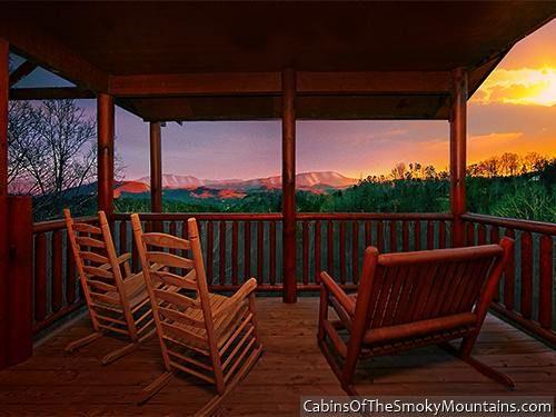 pigeon forge cabin heaven 39 s hidden view 6 bedroom my dream