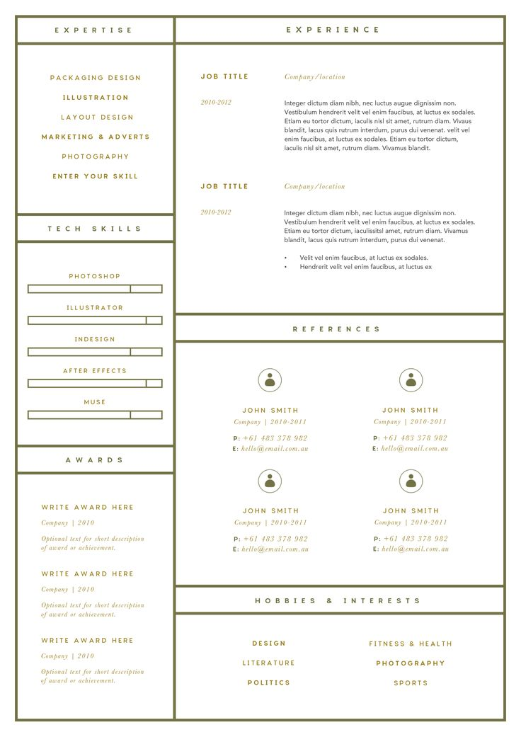 28 best Resume Ideas images on Pinterest Filing, Site design and - resume reference page format